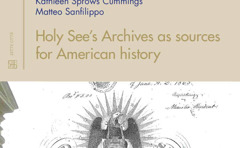 Holy See's Archives as sources for American history